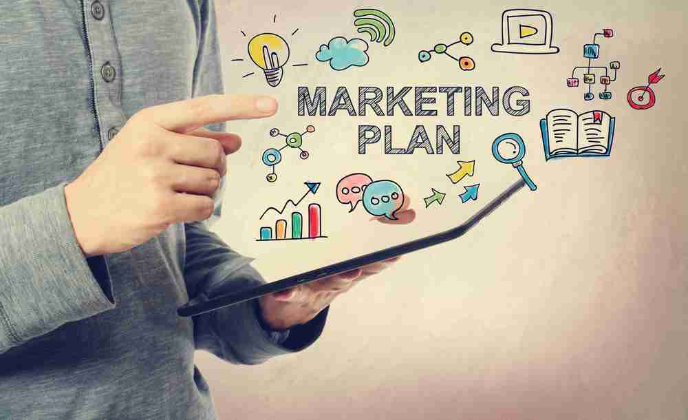 Marketing plan in graphic design